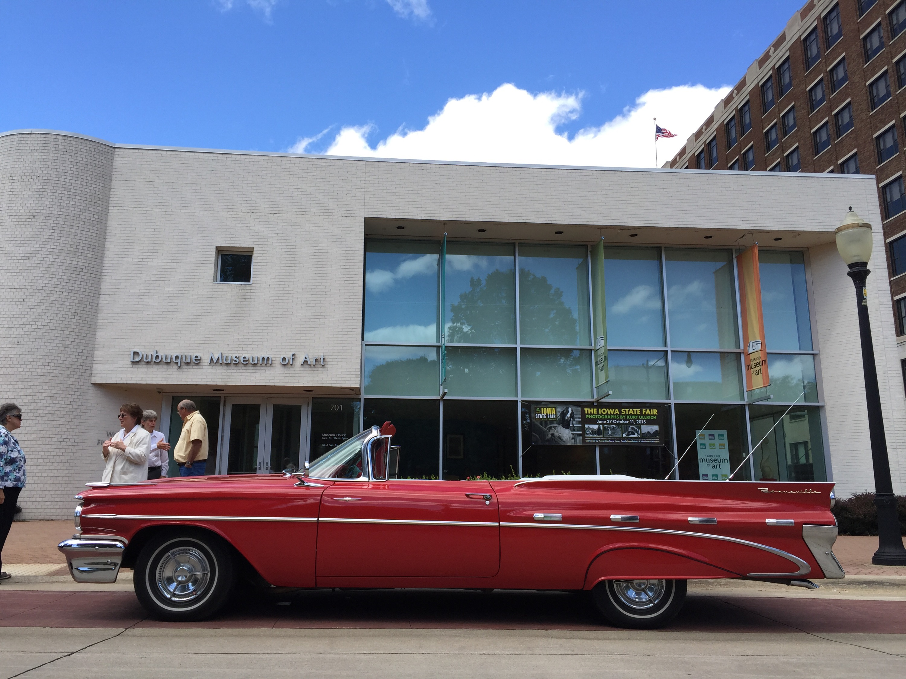 Images from Jaclyn Garlocks talk plus classic cars Dubuque