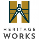 Dubuque Heritage Works Logo