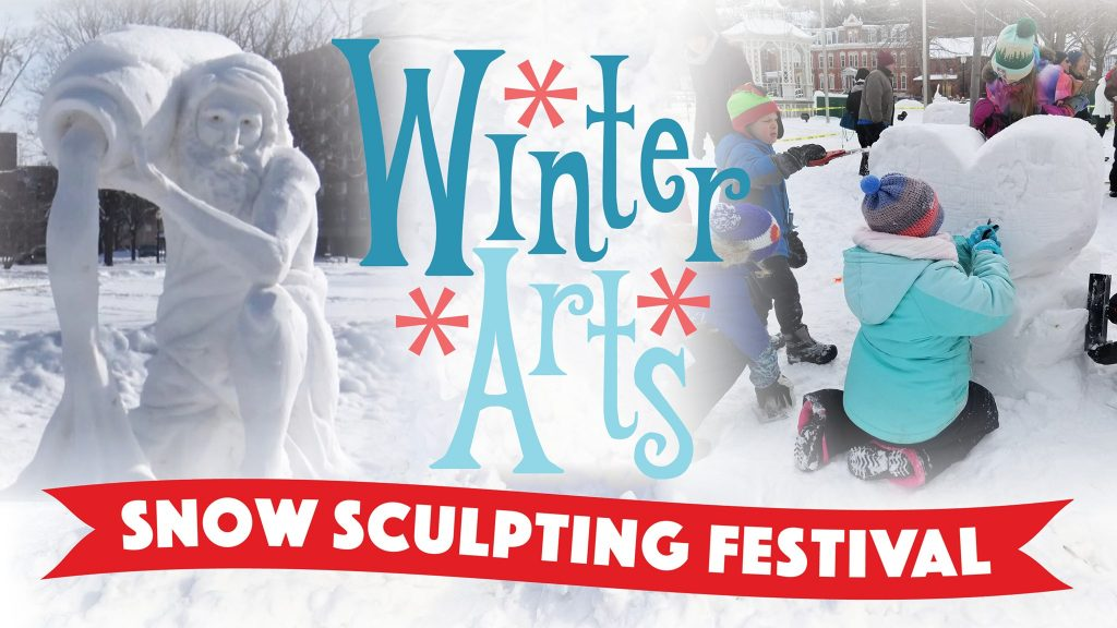 snow festival graphic