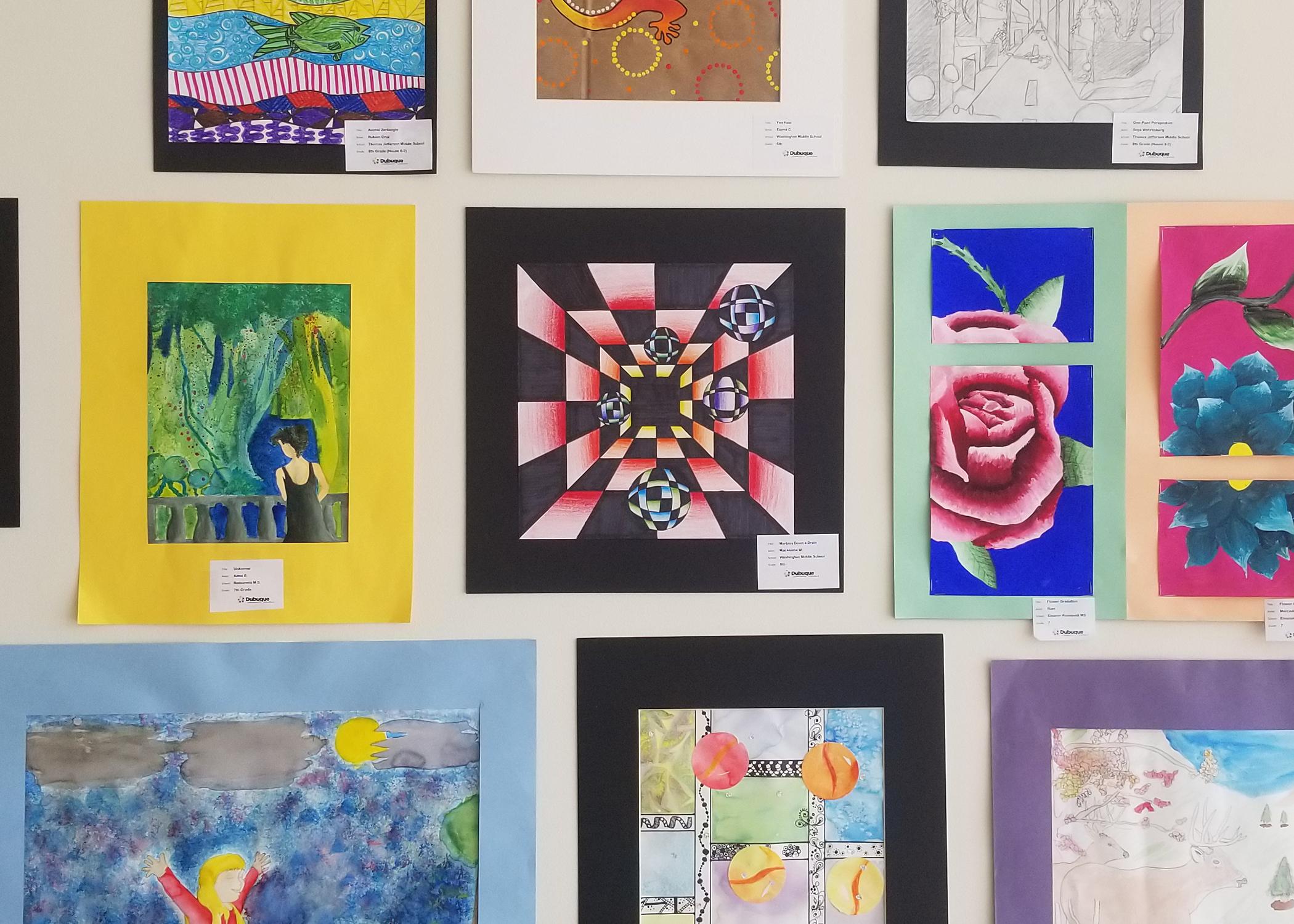 The Dubuque Area K-12 Virtual Exhibition